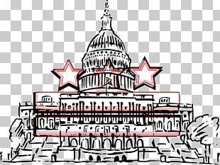 United States Capitol Washington Monument PNG