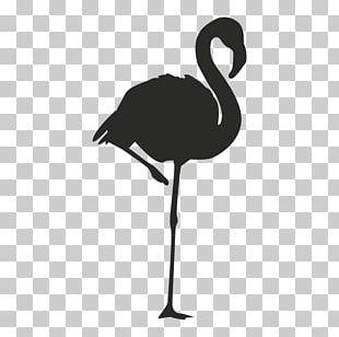 Flamingo Logo Silhouette PNG