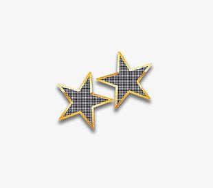 Gold Frame Pentagram PNG