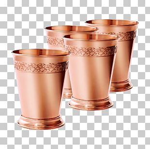 Mint Julep Copper Cocktail Moscow Mule Glass PNG