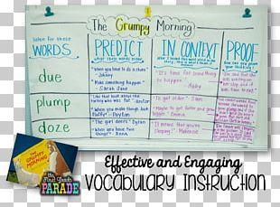 Vocabulary Sight Word Writing Phonics PNG
