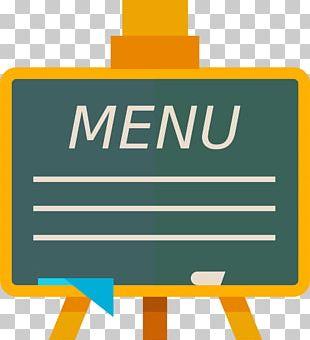 Menu Blackboard Restaurant PNG