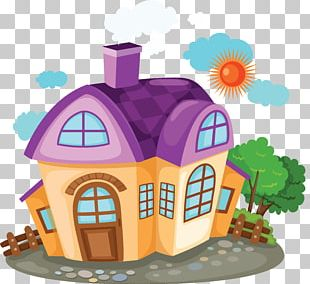 House Cartoon Building PNG