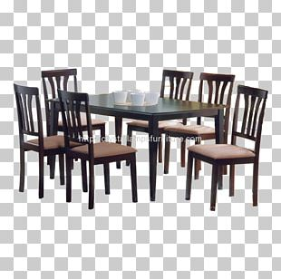 Table Dining Room Furniture Matbord Chair PNG