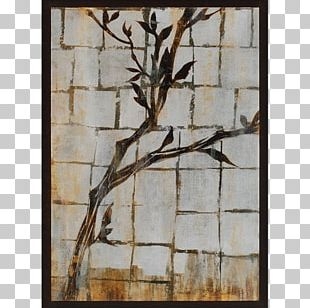 Twig Painting Art Frames Wood PNG