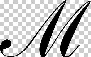 M Script Typeface Cursive Font PNG