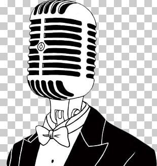 Microphone Stand-up Comedy Comedian Drawing PNG