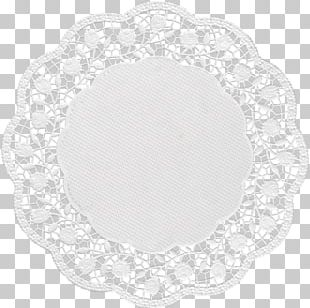 Place Mats Doily Oval PNG