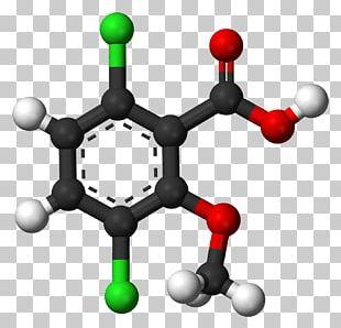 Benzoic Acid Ball-and-stick Model Carboxylic Acid Isophthalic Acid PNG