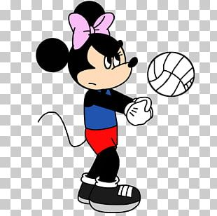 Minnie Mouse Mickey Mouse Volleyball Drawing PNG