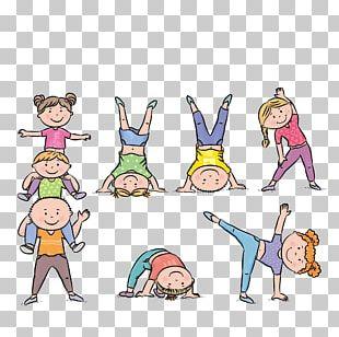 Physical Exercise Child Stock Illustration Gymnastics PNG