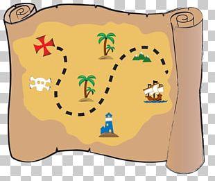 Treasure Map Buried Treasure Piracy PNG