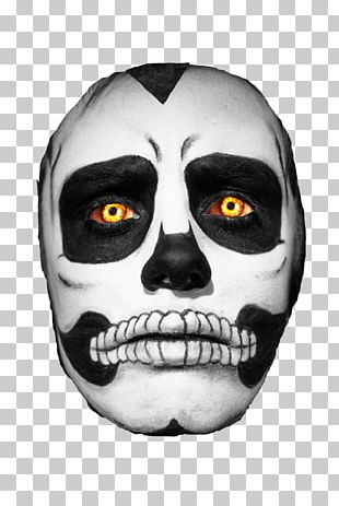 Calavera Skull Day Of The Dead Halloween Costume PNG