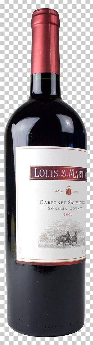 Liqueur Louis M. Martini Winery Dessert Wine Glass Bottle PNG