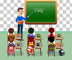 Student Teacher Classroom PNG