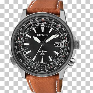 Watch Eco-Drive Citizen Holdings Radio Clock Chronograph PNG