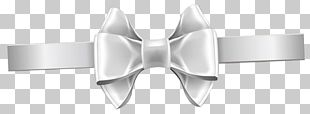Shoelace Knot White Ribbon PNG