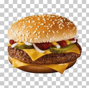 McDonald's Quarter Pounder Hamburger Fast Food KFC Junk Food PNG