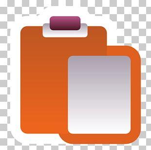 Square Orange Font PNG