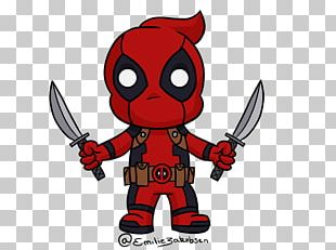 Deadpool YouTube Chibi Drawing PNG