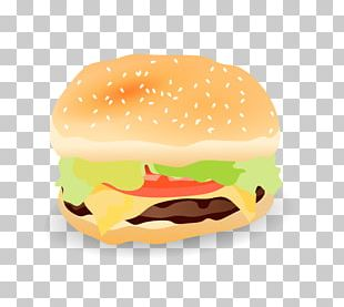 Cheeseburger Hamburger Fast Food French Fries Junk Food PNG