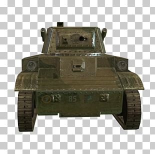 Churchill Tank Armored Car Artillery Gun Turret PNG