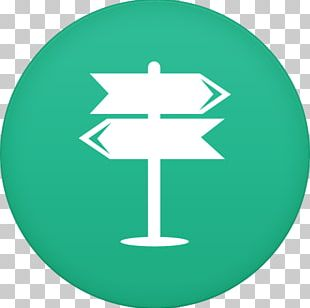 Circle Line Green Symbol Font PNG