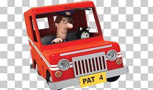 Postman Pat In Van PNG
