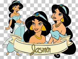 Princess Jasmine Aladdin Jafar Belle Ariel PNG