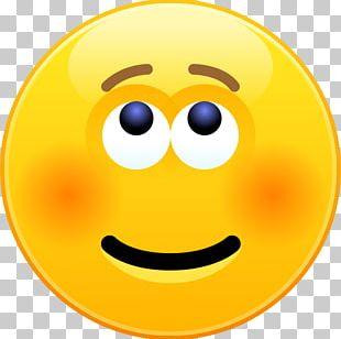 Emoticon Smiley Skype Emoji Blushing PNG