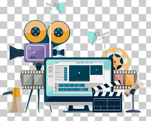Video Production Production Companies Flat Design PNG