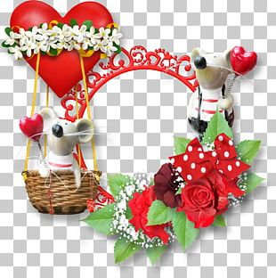 Valentine's Day Frames Gift PNG