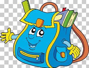 School Bag Backpack PNG