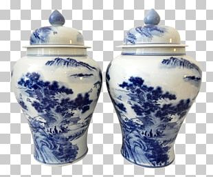 Ceramic Blue And White Pottery Porcelain Fireplace Mantel PNG