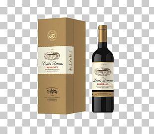 Red Wine Baijiu Paper Liqueur PNG