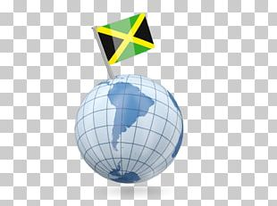 Flag Of Jamaica National Flag Globe Map PNG