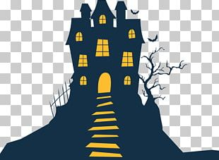 Haunted House Halloween HomeAway PNG