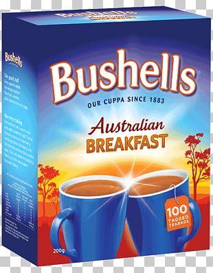 Tea Bag Instant Coffee English Breakfast Tea Bushells PNG