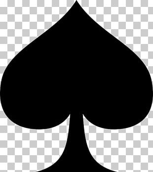 Ace Of Spades Playing Card Suit PNG