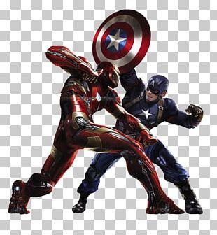 Captain America Iron Man Black Widow Art Marvel Cinematic Universe PNG