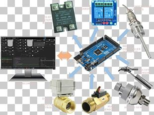 Microcontroller Electronics Electronic Engineering Electronic Component PNG
