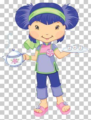 Strawberry Shortcake Blog Animaatio PNG