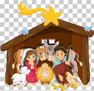 Holy Family Nativity Scene Christmas Nativity Of Jesus PNG