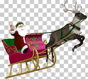 Reindeer Christmas Ornament Santa Claus New Year PNG