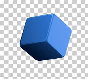 Blue Rubiks Cube PNG