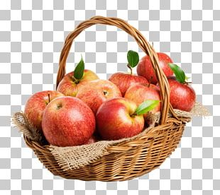 The Basket Of Apples Stock Photography PNG