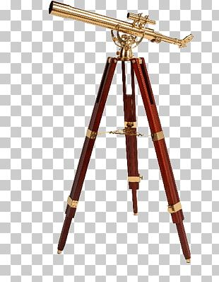 Old Telescope PNG