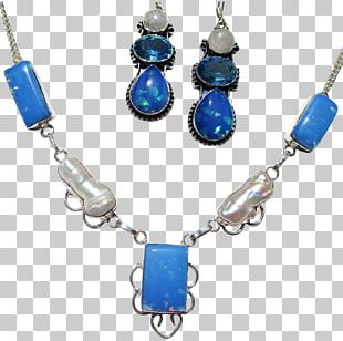 Turquoise Earring Body Jewellery Necklace Bead PNG