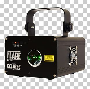 Light Laser Yellow Red Solar Eclipse PNG