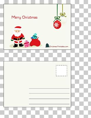 Santa Claus Christmas Card Post Cards Greeting & Note Cards PNG